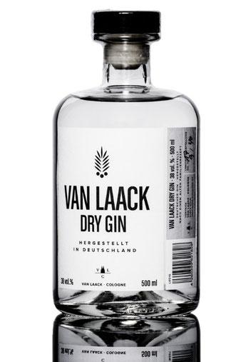 Van Laack Dry Gin Cologne White, Produktfotografie, Bonn