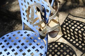 Trauung  und Schuhe