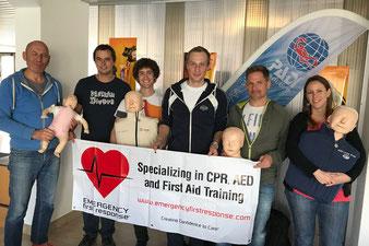 Erste Hilfe Kurs EFR Instruktor CPR AED First Aid EFRI