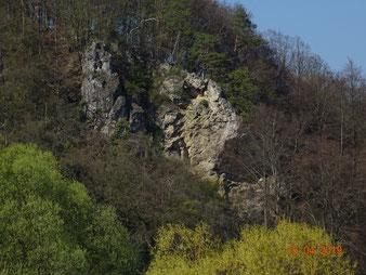 Viele Felsmonumente, hier Dolomit-Riffkalk
