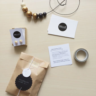 wrapping, branding, corporate identity Belle Accessoires