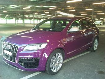 der Audi Q7 V12 gehörte einem Bundesliga Star und wird nun aufbereitet für den Verkauf.