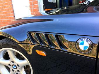 BMW Z3 aus Olfen - die Zähnchen glänzen wieder dank Servfaces 9h Keramik Versiegelung