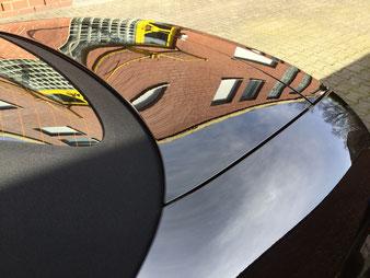 Der Audi TT aus Herten strahlt in Klavierglanz Optik. Dand der Nano Ceramic Soft Versiegelung