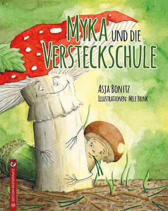 Myka und die Versteckschule - Coverbild