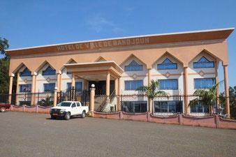 Bandjoun, Hotel de ville inauguré en 2012