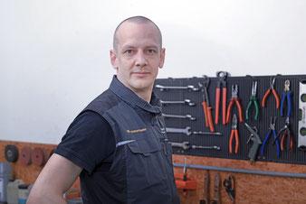 Martin Zimmermann, Serviceleiter