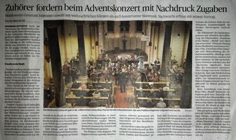 Musikverein Uetterath Adventskonzert 2018, Dirigent Thomas Lindt