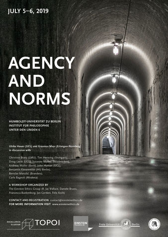 Our latest Workshop: ''AGENCY AND NORMS'' - Einstein Ethics