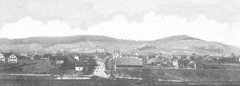 Ostansicht 1908