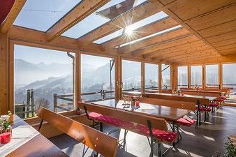 Restaurant in Oberaudorf im Berggasthof Hummelei