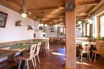 Gaststuben in Oberaudorf im Berggasthof Hummelei