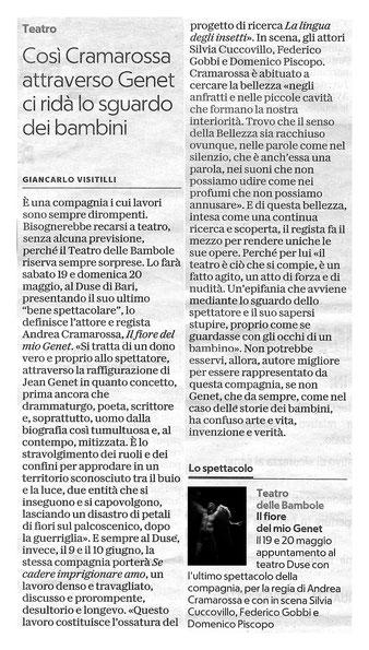 15/05/2018 - La Repubblica