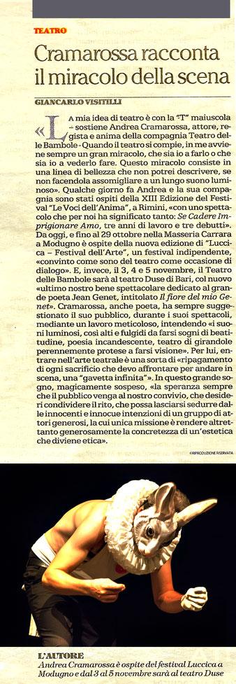 24/10/2017 - La Repubblica