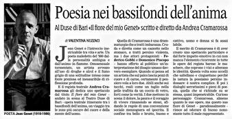 25/05/2018 - La Gazzetta del Mezzogiorno