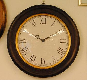時計 壁掛け オシャレ イタリア製 木製 丸