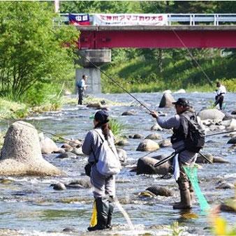 飛騨高山アマゴ釣り大会