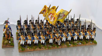 infanterie de ligne Würtembergeoise
