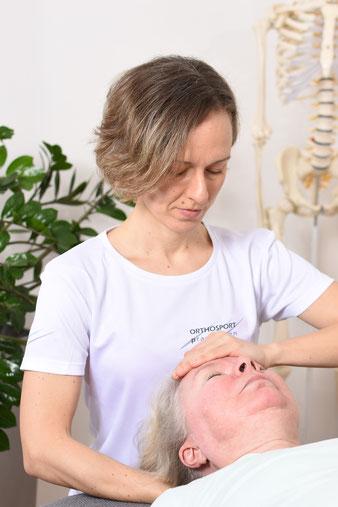 Birgit Gamauf, MAS; Viszerale Therapie, Manuelle Therapie, Behandlung Tinntus, Schwindel, Kopfschmerz, Cranio-Sacrale Therapie 1140 Wien