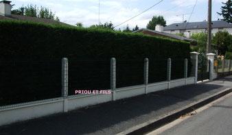 clôture panneau rigide, Priou et Fils, 41700 Contres, Blois, Loir et Cher