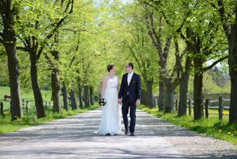 Braut und Bräutigam Brautpaarshooting