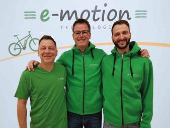 Die e-motion e-Bike Experten in der e-motion e-Bike Welt in Münster