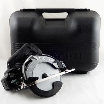 日立工機◆165mm コードレス 丸のこ C3606DA 2XPB 36V ブラック