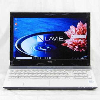 NEC◆15.6インチ ノートパソコン Core i7 7500U メモリ:8GB 1TB SSHD BD-R USB3.0 NS750/HAW