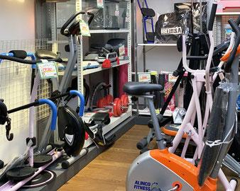 エアロバイクなどの健康器具