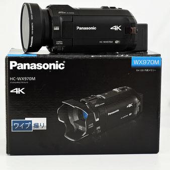 Panasonic デジタル4Kビデオカメラ HC-WX970M ムービー