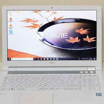 NEC◆15.6インチ ノートパソコン LAVIE PC-NS600JAW