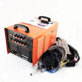 交流 直流 切替式 インバーター TIG 溶接機 TIG200P パルス溶接 AC単相200V