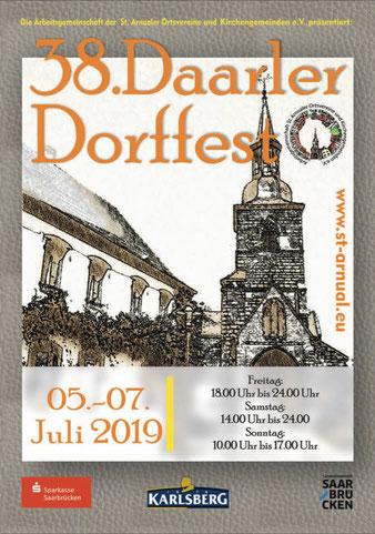 Die Dokumentation zum Daarler Dorffest zum Download