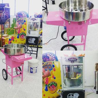 venta de algodón de azúcar medellin, alquiler fuente de chocolate bello, obleas para eventos en medellin, maquina de raspados medellin