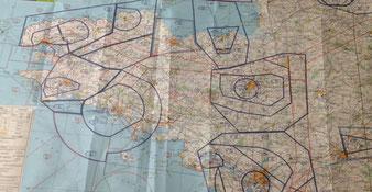 lire et comprendre des cartes aéronautiques