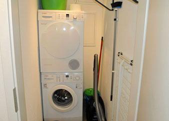 Ferienwohnung mit Waschmaschine und Trockner