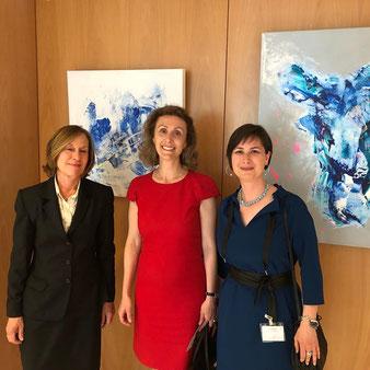 Céline Bettel - Exposition Femmes d'Europe, Maison du Luxembourg, Bruxelles, Belgique