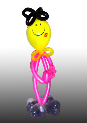 dekorative Ballon Skulptur