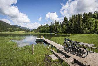 Mit dem E-Bike auf Tour zum Lauenensee