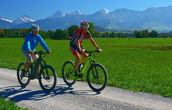 E-Bike und E-Mountainbike Touren Berner Oberland