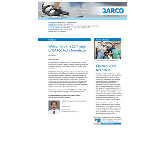 DARCO India, Newsletter 22, 12/2018
