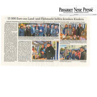 Passauer Neue Presse, 30.10.2017