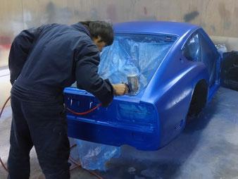S30フェアレディZ 全塗装