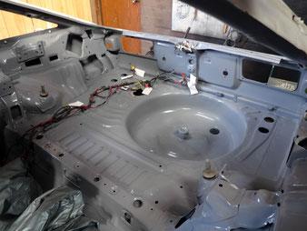 AE86レビン 燃料タンク交換