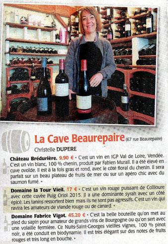 Cave Beaurepaire Angers, Les coups de cœur des cavistes pour les fêtes