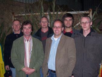 Der Vorstand im Jahre 2008