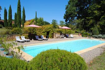 la piscine paysagée