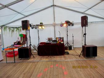 Bernd Winkler Kerkow, Festzelt-DJ Uckermark, Party-DJ,