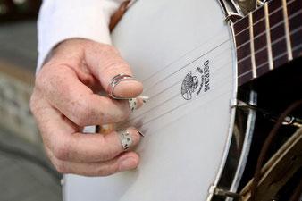 Bernd Winkler Kerkow Angermünde, Banjospieler,