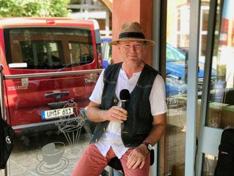 Bernd Winkler Kerkow Angermünde, BOSE, Sennheiser, Panamahut, DJ Uckermark, Familienfeier, Familien-DJ Party-DJ